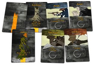 Legend of Sleepy Hollow card samples | by GTGChris
