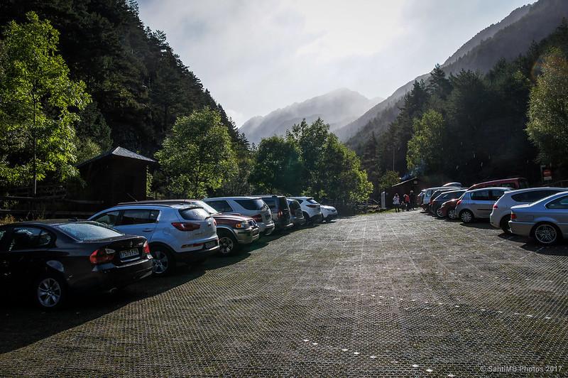 La Palanca de la Molina, último lugar donde se puede llegar en coche a Aigüestortes