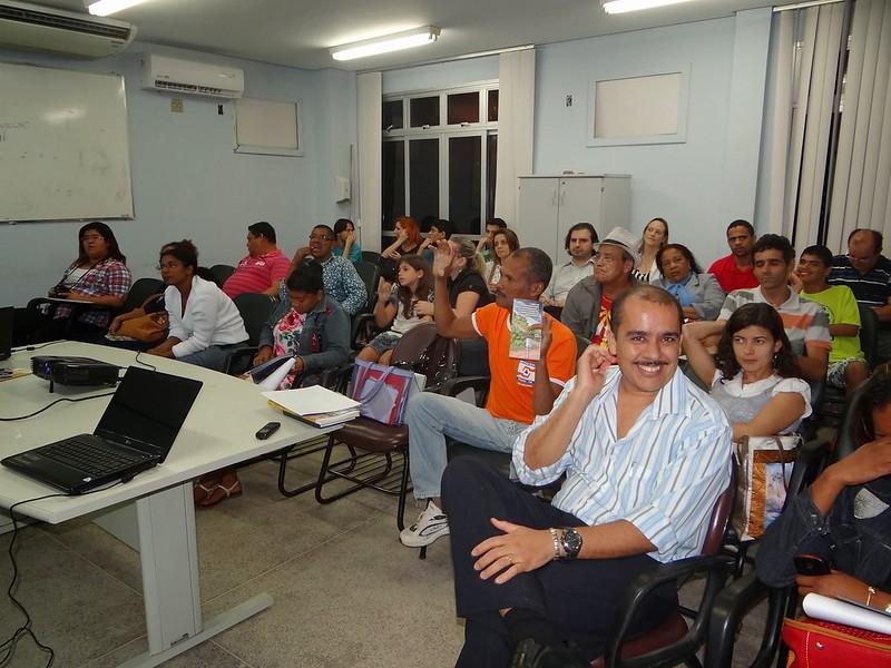 Apresentação do Projeto Mosaic na plenária do Fórum Bem Maior - interação com a comunidade (2) 17-07-13
