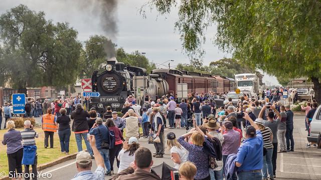 The steam train to Wycheproof