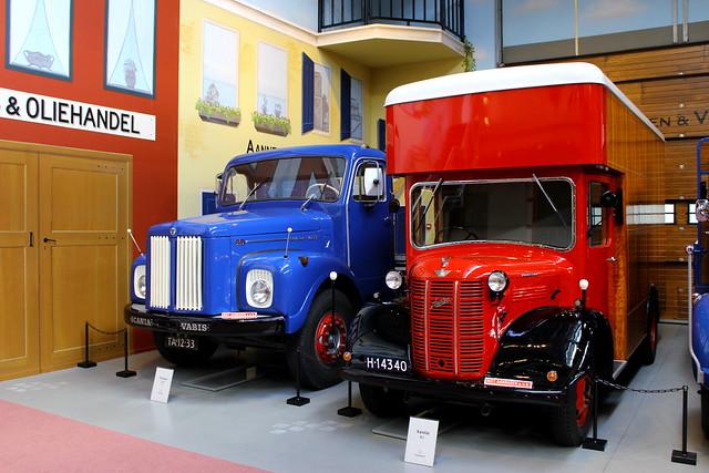 1943 Austin K2 + 1960 Scania Vabis L-5534-A