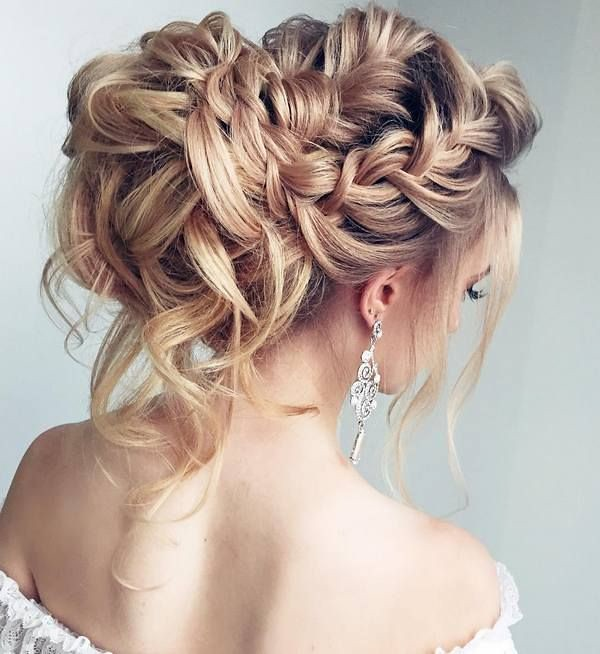 Wedding Hairstyles Half Updo Braids Chongos Updo Weddin