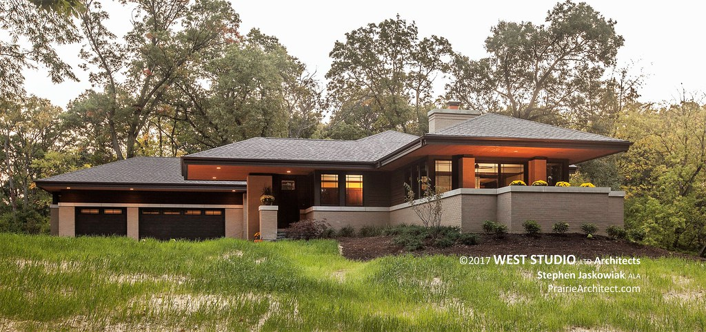 Hillside house a modern prairie style home by west - Lloyds architecture planning interiors ...