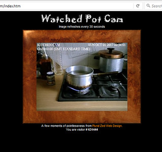 Watched Pot Cam | by pluralzed