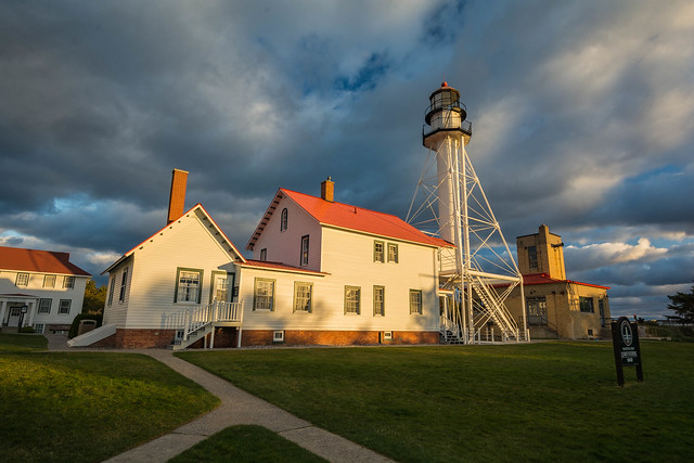Whitefish Point Light Station - Lake Superior