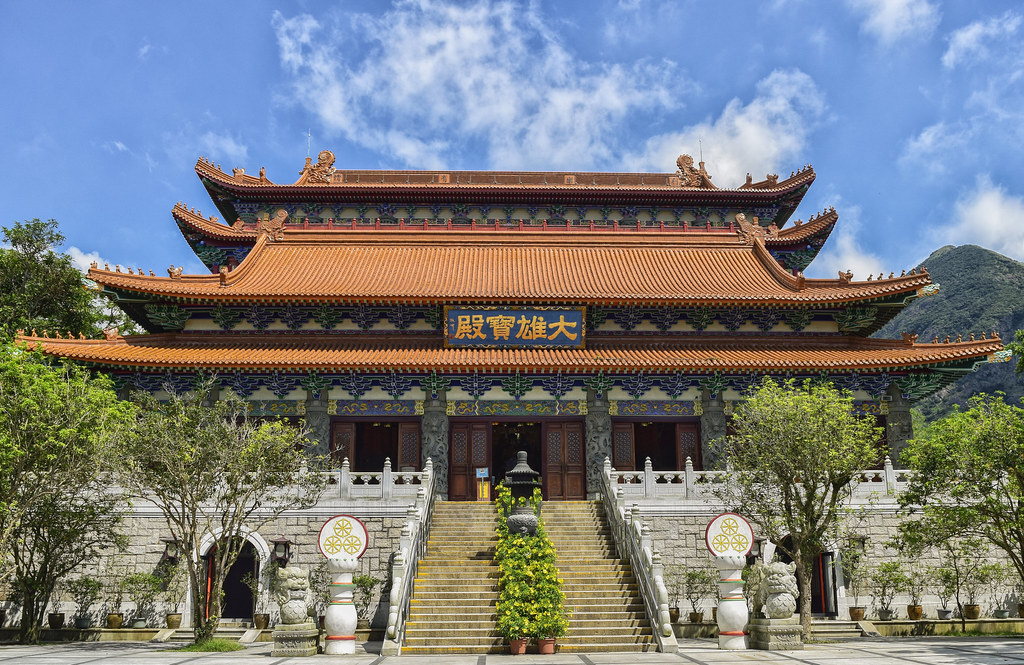 Po Lin Monastery - Lantau Island, Hong Kong | Po Lin Monaste… | Flickr