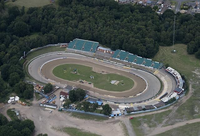 Ipswich Foxhall Stadium - Suffolk aerial