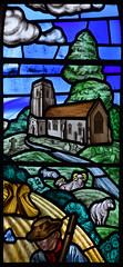Tannington church (1970s, artist unknown)