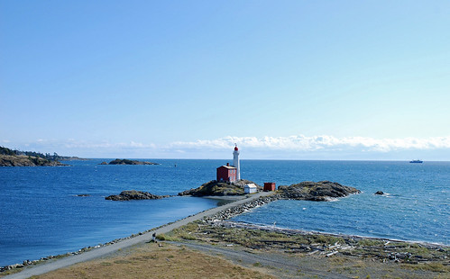 canada kanada vancouverisland lighthouse leuchtturm