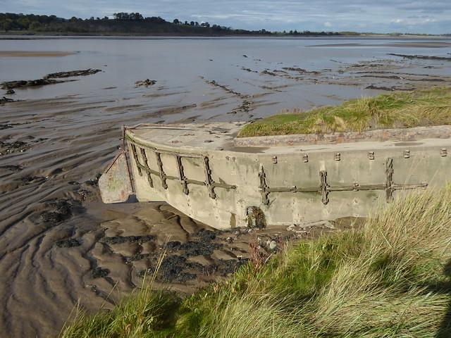 Concrete Barge, Purton Ship's Graveyard, River Severn, Gloucestershire