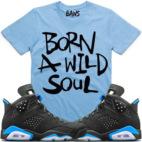 pretty nice 3a2b8 48ef5 Jordan 6 UNC sneaker tees shirts | Jordan 6 UNC sneaker shir ...