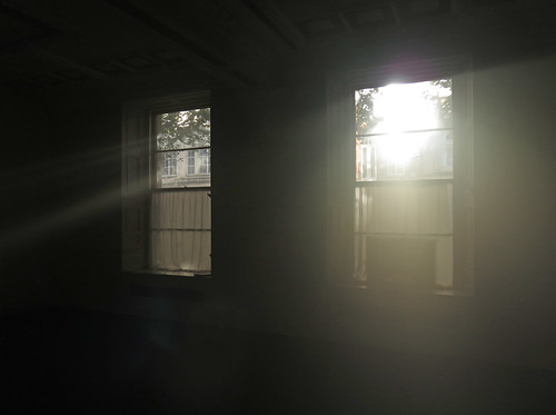 Belfast, Ireland, Sun through the windows