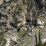 Seasonal creeks in Cascade Canyon