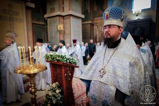 Литургия в Софийском соборе 112