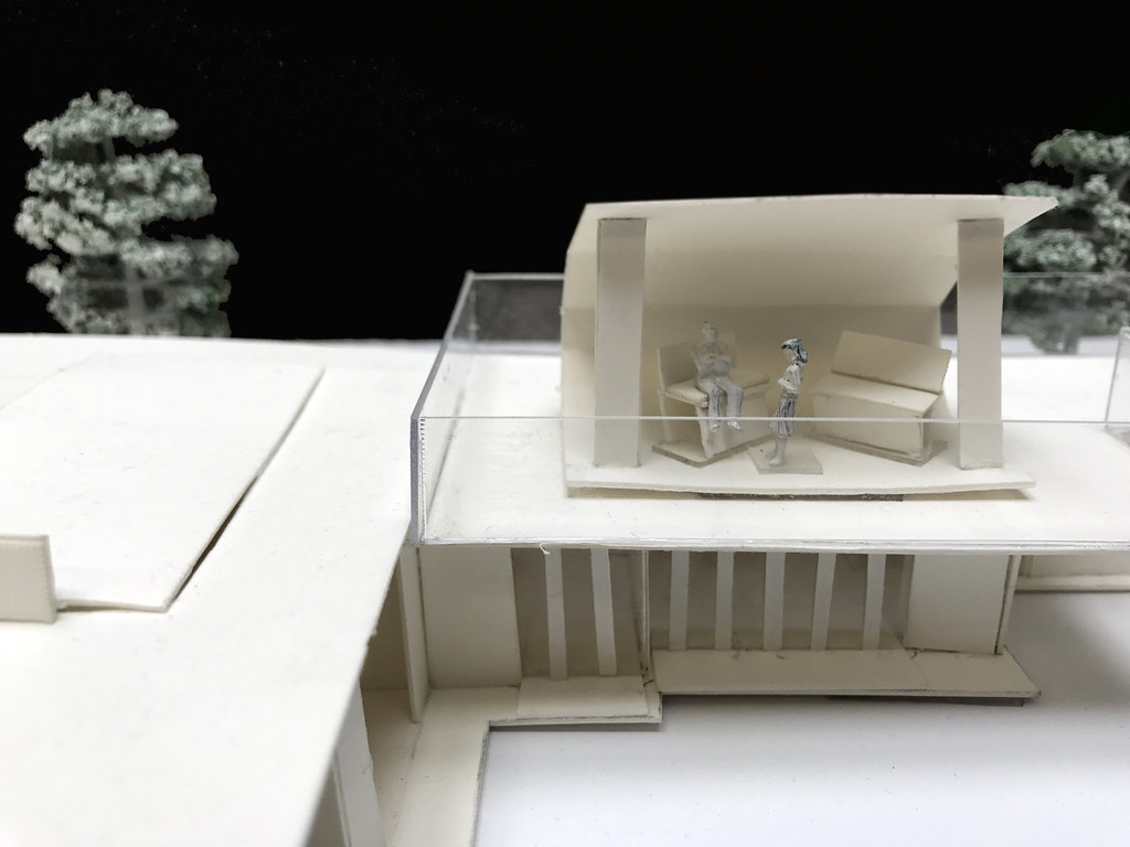 Final Model Of Addition To Flws Jacobs House By Sudha Ram
