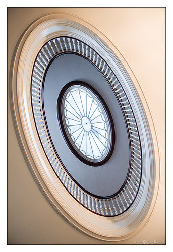 stairs overlook george eastman mansion museum rochester newyork ny spindles spiral banister railing tones skylight eyes