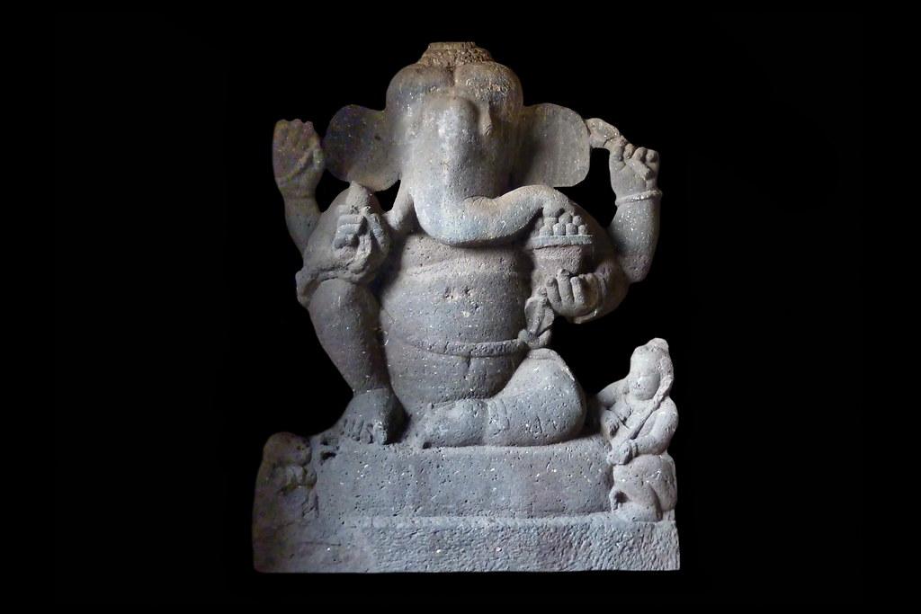 India - Ellora Caves - Cave 15 - Ganesha - 74d | Ganesha, al… | Flickr