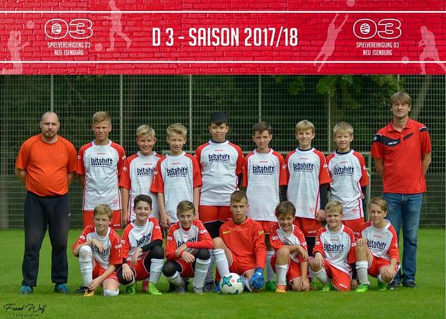 D 3 Saison 2017/18