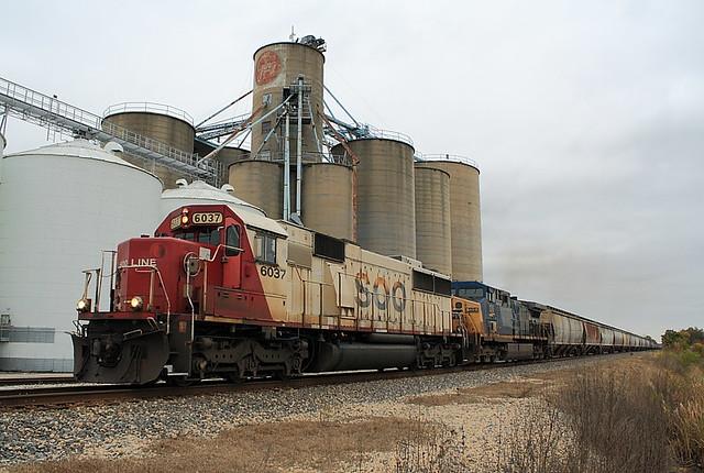 Soo Line SOO 6037 (EMD SD60) Edgewood, Illinois
