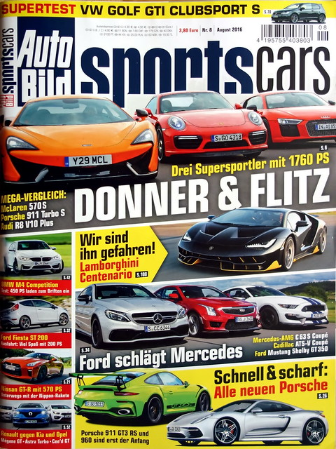 Auto Bild Sportscars 8 2016 More Cars