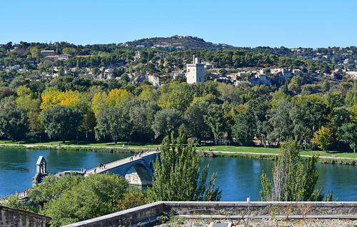 avignon provencealpescôtedazur france vulleneuve pont monument paysages fabuleuse