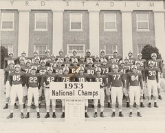 1953 National Championship team
