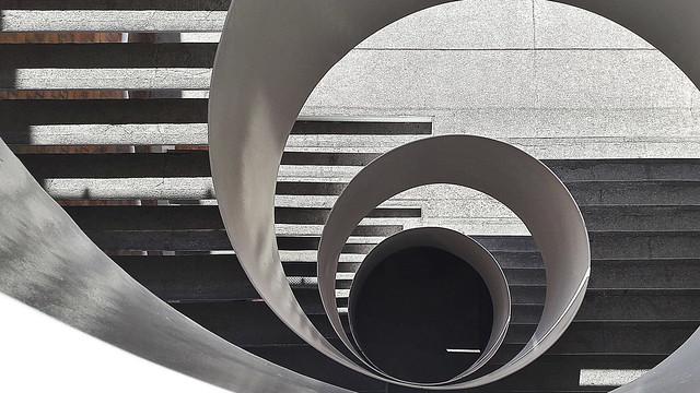 grey spiral.