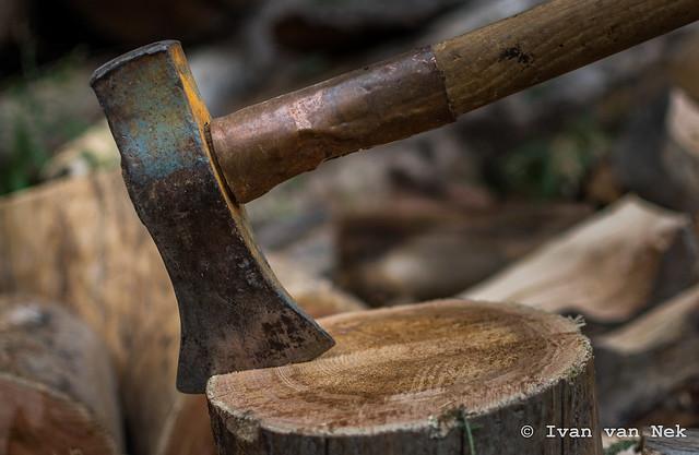 Lumberjack siesta...
