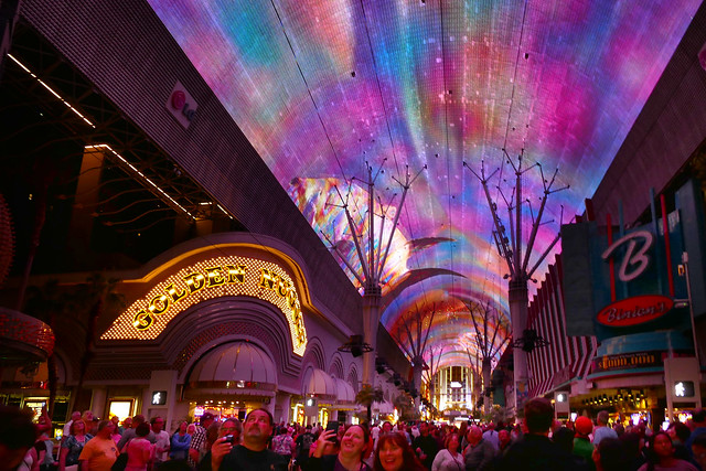 The Fremont Street Experience. Las Vegas.