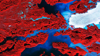 Nordenskiold Glacier, Greenland | by europeanspaceagency