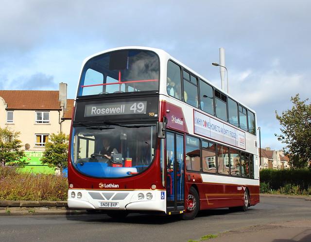 901 - SN08 BXP - Lothian Buses