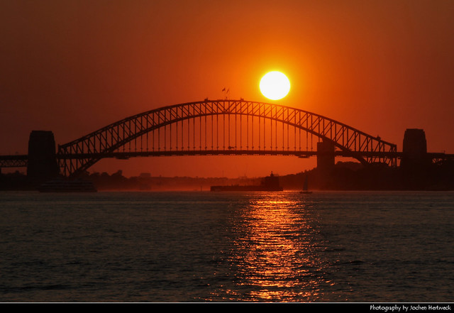 Harbour Bridge @ Sunset, Sydney, Australia