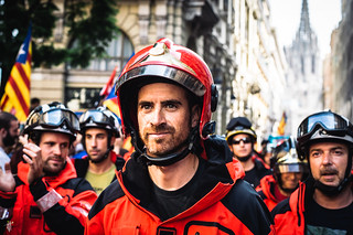 Aftermath Of The Catalonian Independence Referendum   by Sasha Popovic   Photography