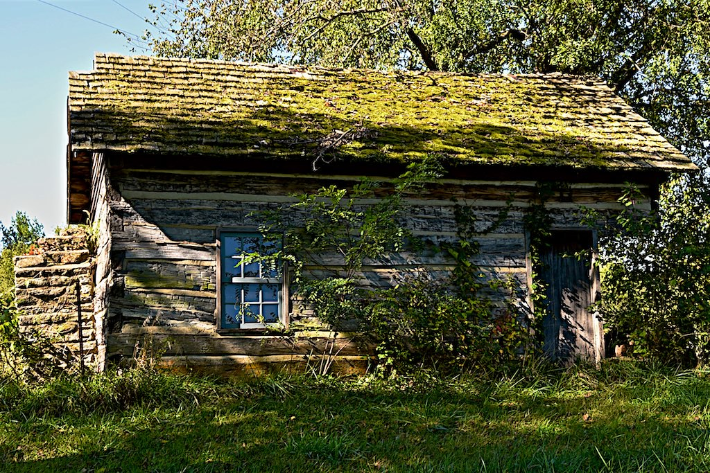 Log Cabin At Treaty Line Dunlapsville Is A Village At The