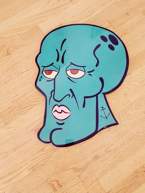 Handsome Ass Squidward by R6D4 [SOLD]