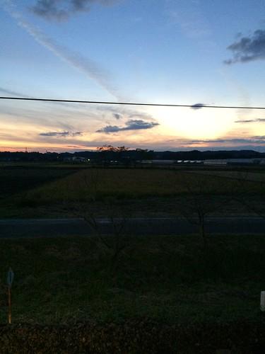 shizuoka sky sunset