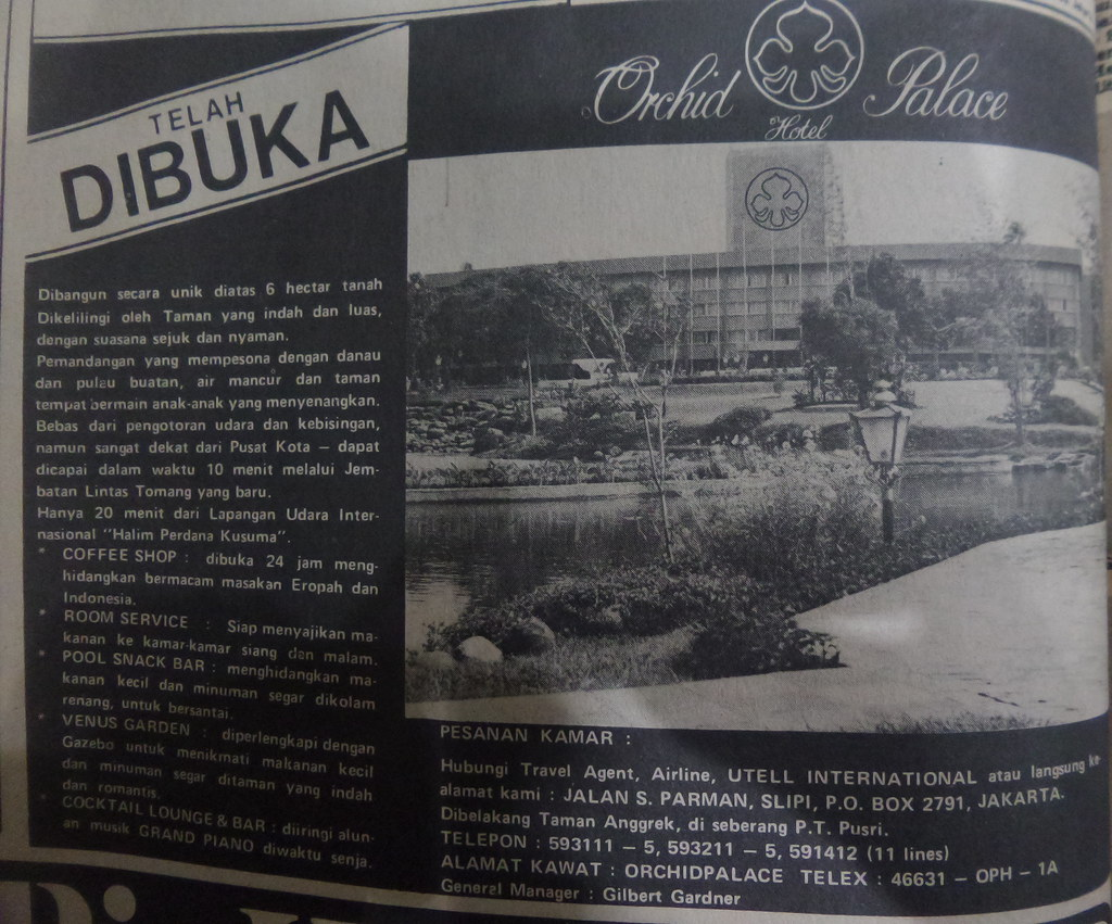 Hotel Orchid Palace - Kompas, 13 Agustus 1977