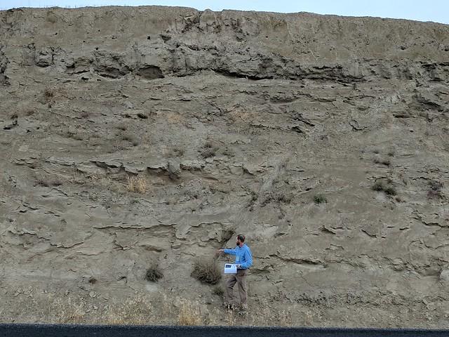 GSA field trip day 1 - sediment dike