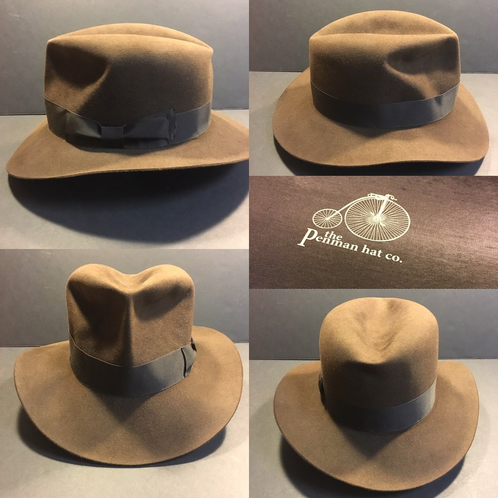 1655b75a883a5 ... 360 view of this  indianajones  raidersofthelostark  penmanhats  fedora   hat I just