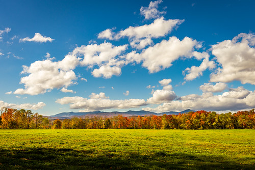 landscape autumn fall foliage fallfoliage sky clouds mountain mtmansfield nature field harvest naturephotography america fun colourful colorful contrast vivid bright nikon d610 nikkor 2018g morristown vermont vt unitedstatesofamerica usa elmore fav10 fav25 fav50