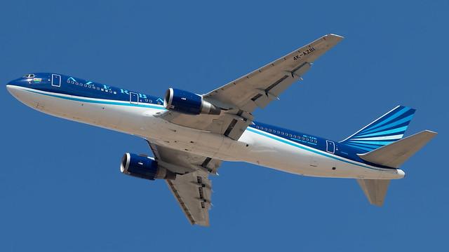 TLV - Azerbaijan Airlines Boeing 767-300 4K-AZ81