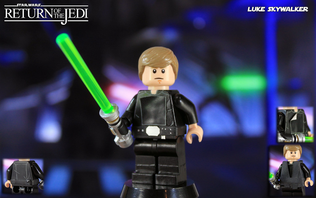 58d2d57dfab3 ... Custom LEGO Star Wars: Return of the Jedi | Luke Skywalker | by  LegoMatic9