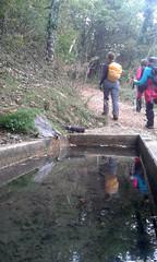 Fuente camino a la Trinidad