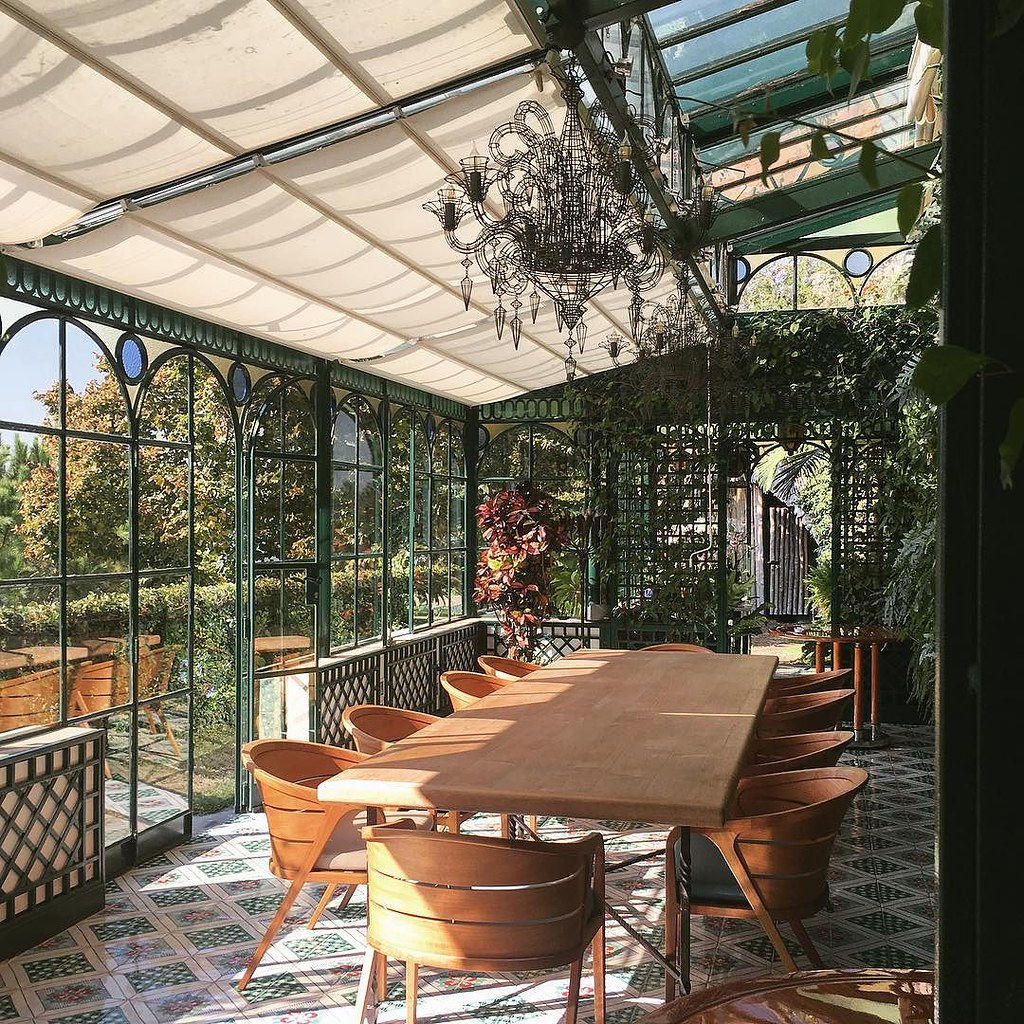 Excellent Think Our Next Home Needs A Greenhouse Dining Room Flickr Complete Home Design Collection Barbaintelli Responsecom
