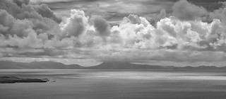 Towering clouds over the mainland | by johnkaysleftleg