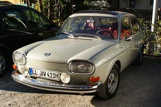 """Volkswagen Typ 411 """"Nasenbär""""."""
