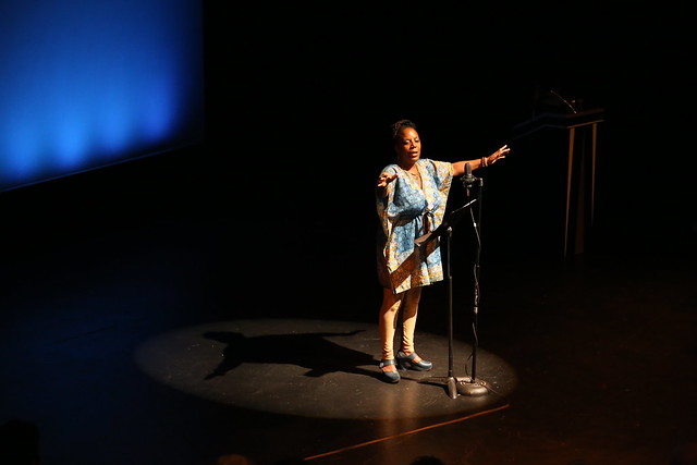 State Theatre New Jersey Poet-in-Residence Glenis Redmond