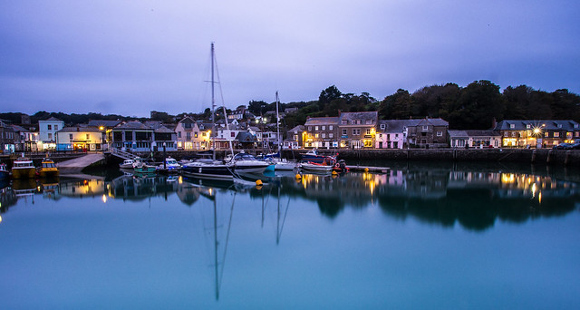Padstow Harbour at Dawn