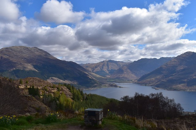 Loch Duich and Kintail from Mam Ratagan view point.