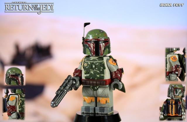 Custom LEGO Star Wars: Return of the Jedi | Boba Fett